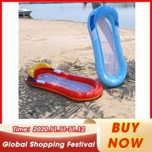 Sleeping-Cushion Lounger Air-Mattress Water-Hammock Floating Swimming-Pool Foldable Beach