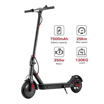 Patinete eléctrico inteligente iScooter de 350W, Patinete Mini plegable, Patinete largo, Patinete eléctrico de 2 ruedas, Patinete eléctrico