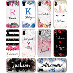 DIY Custom Made Name Phone Case For Doogee X95 X90 Y8C Mix 2 N20 Y9 Plus N10 Y7 Y8 X70 X60 X50 X30 X55 X60L X50L Customize Cover