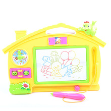 Heat-Color Magnetic Drawing Board Large Size Baby Educational Toy Gift Box Children WordPad Hot Selling