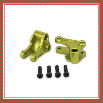 2PCS Aluminum Front Shock Rocker Arm Tie Rod Mount Damper For Rc Model Car 1-12 Wltoys 12428 12423 Shock Absorber 0043Upgraded image