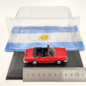 Image 4 - IXO 1/43 For Fiat 800 Spider 1966 Diecast Models Limited Edition Collection Car Toys Gift Red