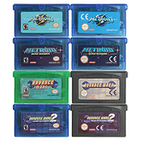 32 Bit Video Game Cartridge Console Card Metroi Serie Nul Missio Us/Eu Versie Voor Nintendo Gba