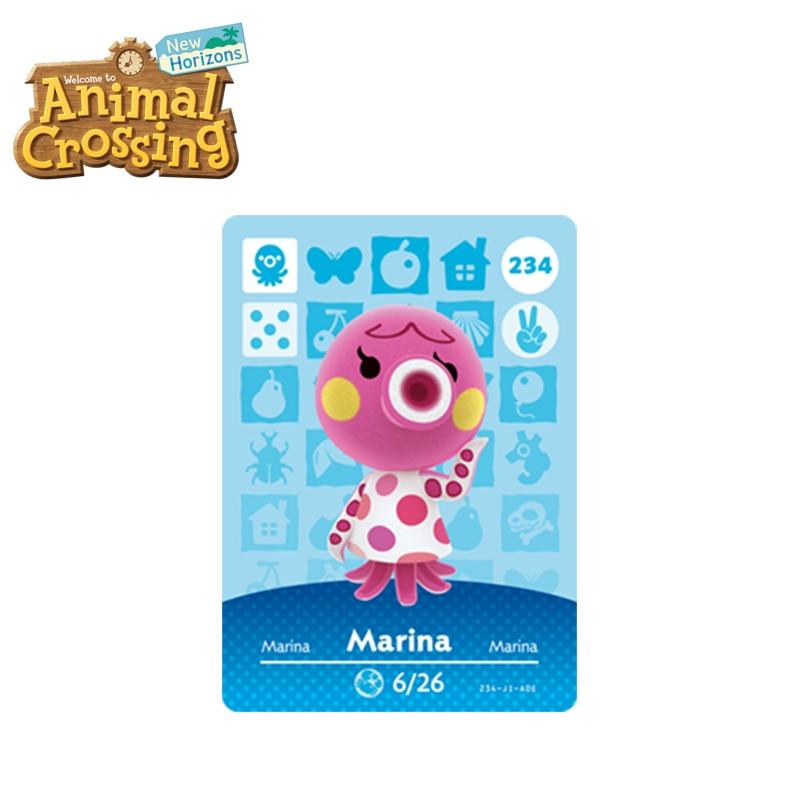 234 Marina Best Animal Crossing New Horizons Funniest Villagers  Marina Amiibo Card Animal Crossing Card Series 3