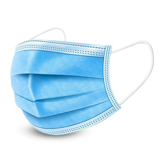 Mask Safety Anti-Pollution 3 Laye Protection Masks Disposable Face Masks CE Elastic Ear Loop Disposable Dust Filter Dust Mask 2