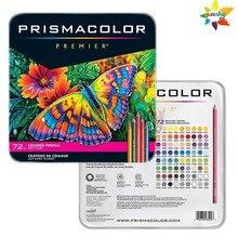 12 48 72 132 150 cor eua prismacolor lápis artista arte fina conjunto sanford macio conjunto de desenho oleoso lapis de cor pc1077 pc935 pc938