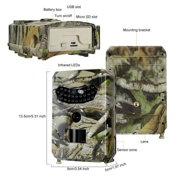 Markkinoiden edullisin riistakamera – 12 Mpix