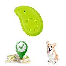 цена на Dropshipping Mini Smart GPS Dog Collar Locator Alarm Wallet Finder Key Pet Dog Tracker Child Phone Anti-Lost Equipment