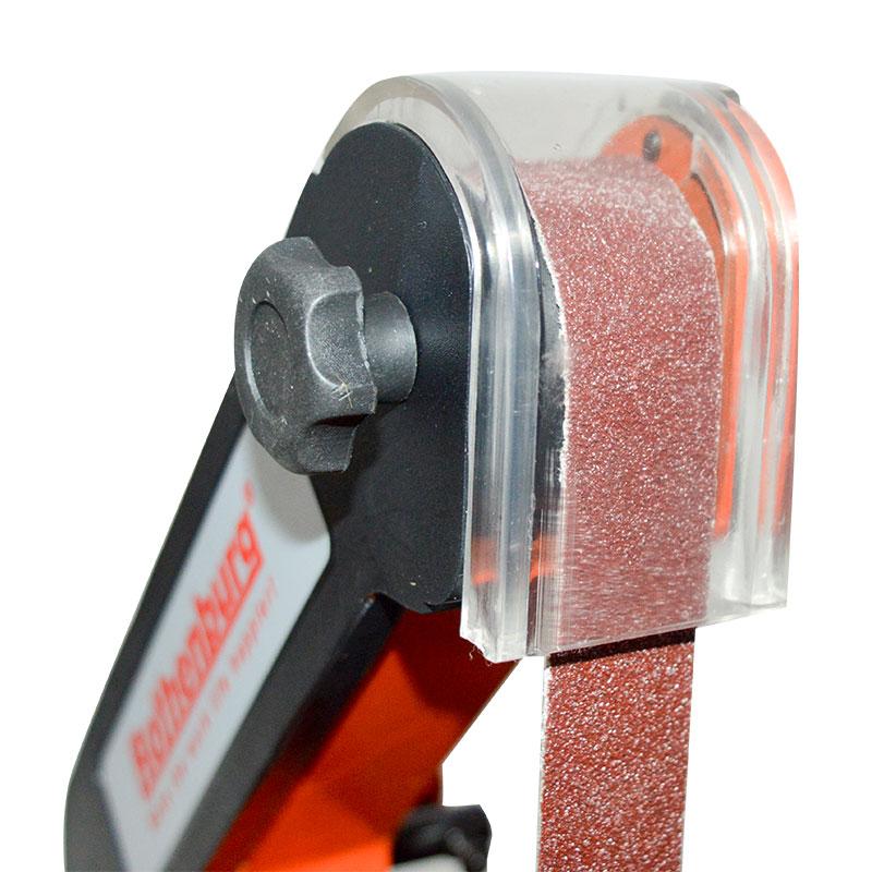 Vertikalus juostinis šlifuoklis Medienos apdirbimo metalo šlifavimo - Elektriniai įrankiai - Nuotrauka 5