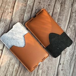 Image 3 - Telefon Tasche, für Samsung Galaxy Note10 Plus 6,8 Ultra Dünnen Handgemachten Wollfilz Telefon Hülse Abdeckung Für Galaxy Note10 Plus Zubehör