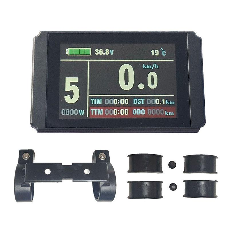 SOMEDAY Electric Bicycle Accessories Computer KT-LCD8H Color Display For Ebike LCD Display Parts