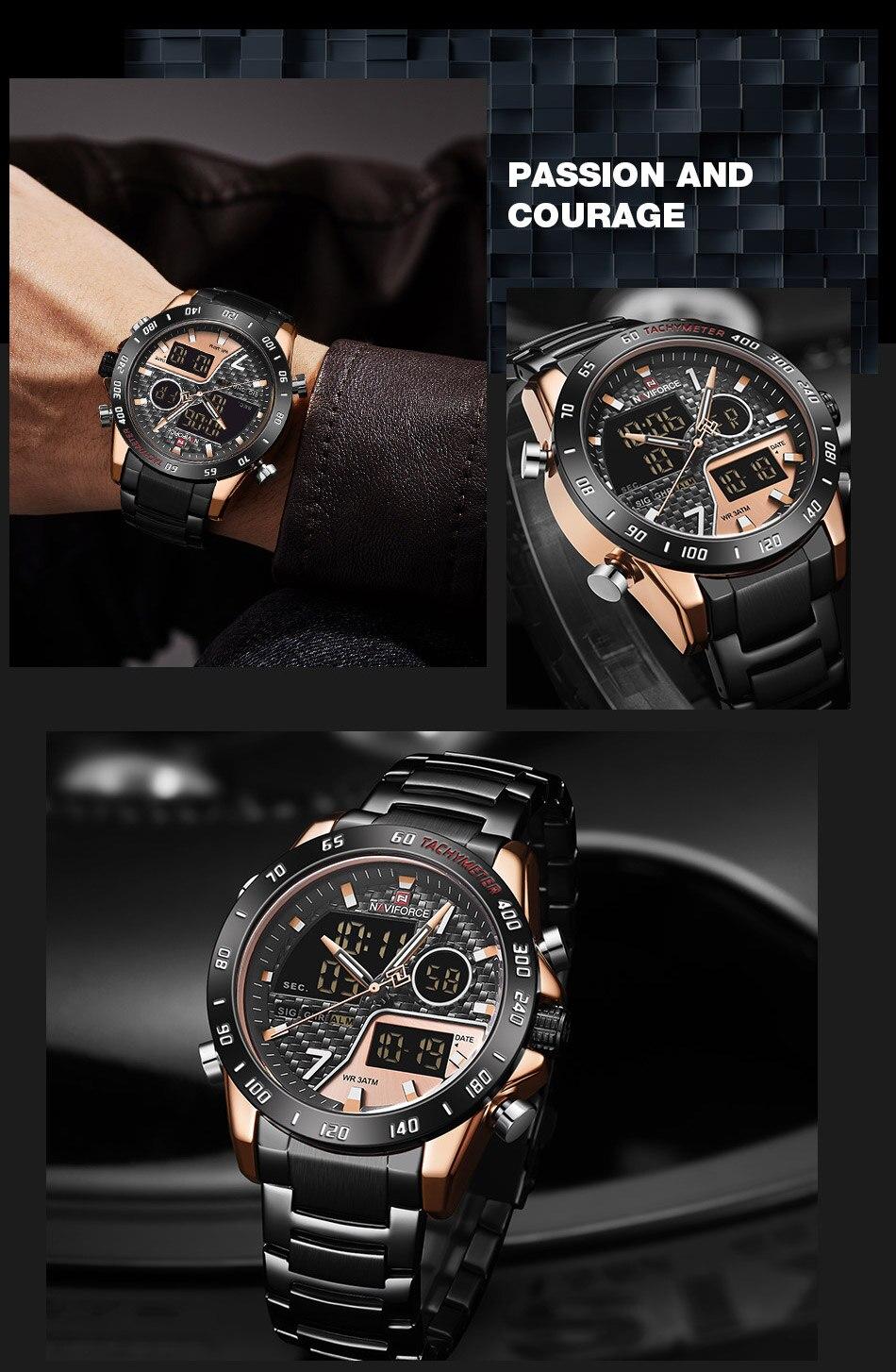 H06f22722f58e4ca5abe26f65662c4f46y NAVIFORCE Men Digital Watch LED Sport Military Mens Quartz Wristwatch Male Luminous Waterproof Clock Watches Relogio Masculino