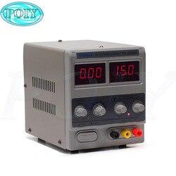 Источник питания YIHUA 1502DD постоянного тока, регулятор напряжения, лабораторный источник питания, регулируемый цифровой телефон для ремонта, ...