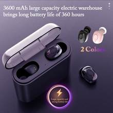 X18 TWS Bluetooth 5.0 Headphones Single/Binural Button Wireless Stereo Charging Bin Stealth Sports Headsets Bluetooth Earphone(China)