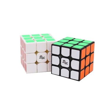Hot sell Original Yj Yongjun MGC M 3x3x3 2x2x2 Magnetic 2x2 MGC3 II V2 3x3 Speed magic Cube Professional Twist Educational Toys - discount item  31% OFF Games And Puzzles