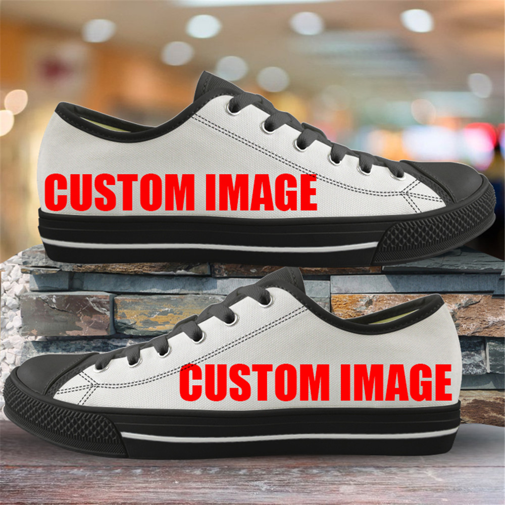 INSTANTARTS Classic Low Top Canvas Shoes Vulcanized Sneakers Colorful Rainbow Print Pride Ladies Flats Shoes Women Zapatillas 11