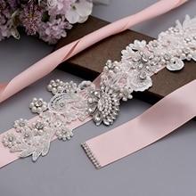 Rhinestone Belt Dress-Accessories Garter Evening-Dresses Bride Wedding-Bridal Woman S157