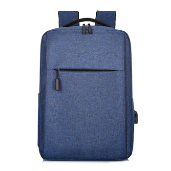 15.6 Inch Laptop Men Backpack Larger Capacity Travel Male Laptop Backpack Usb Charging Computer Backpacks Waterproof Bag for Men - Blue, Russian Federation