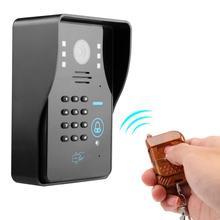 Wireless Doorbell Intelligent Intercom Video Door Phone with Electric Control Lock 110-240V dzwonek bezprzewodowy цена 2017