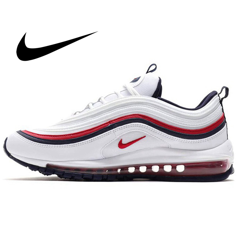 Original Nike Air Max 97 LX Men's Running Shoes Fashion Breathable Comfortable Outdoor Sports Sneakers 2018 New 921733-102