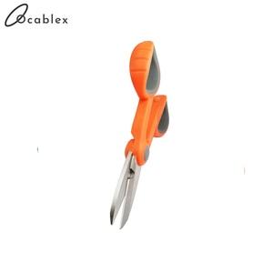 Image 2 - 10 sztuk/partia nożyce Kevlar wygodne włókna kabel ze zworką nożyczki narzędzie tnące do światłowodu włókno aramidowe
