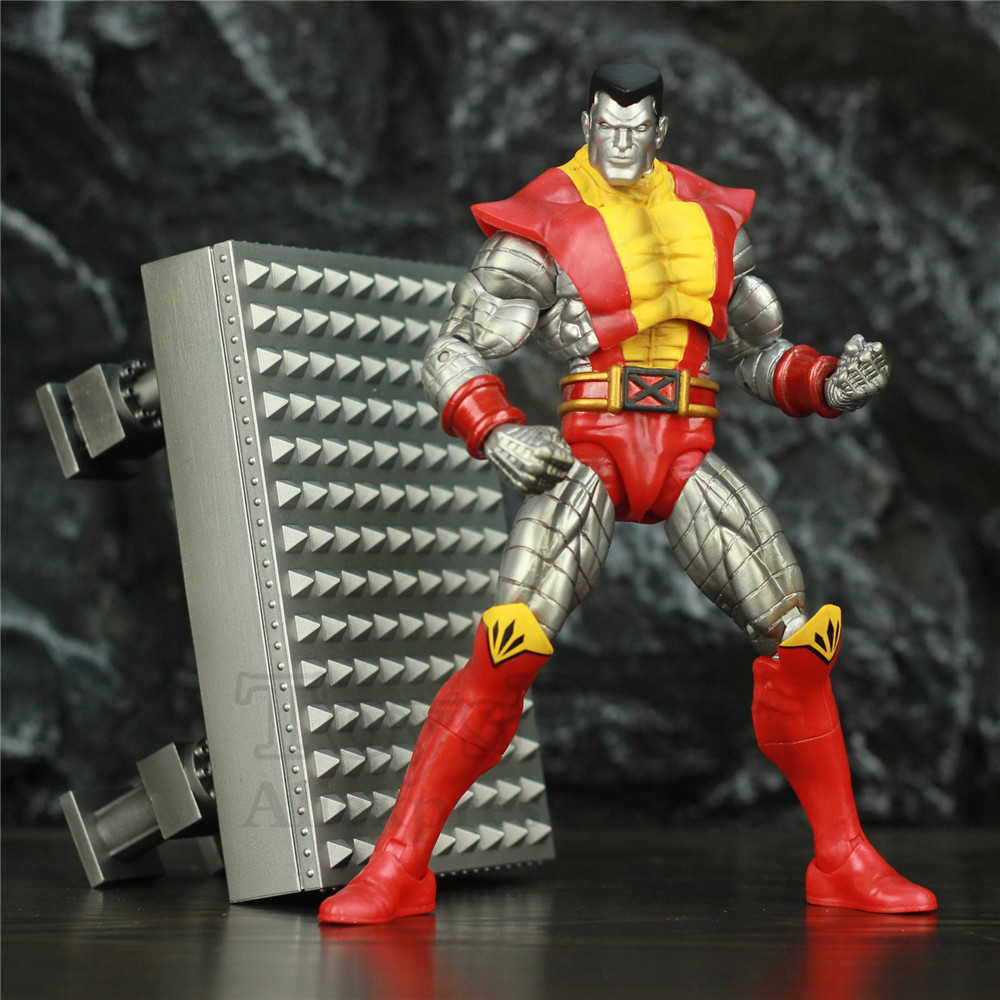 "Original Marvel Select X Men Colossus 7"" Action Figure X-Men Peter Rasputin Diamond Select DST MS Doll Toys Collectible"