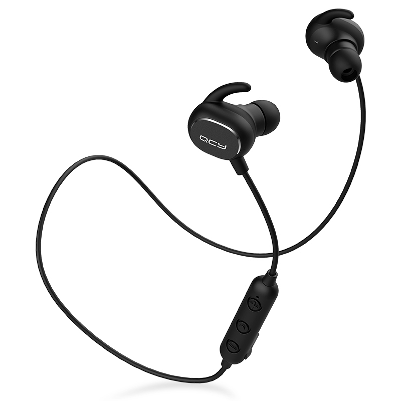 QCY QY19 combination sets sports earphone bluetooth BT V5.0 earbuds and portable storage pouch