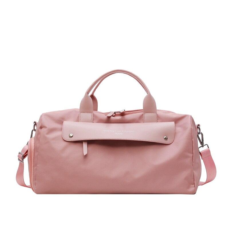 Женские дорожные сумки, сумка для йоги, тренажерного зала, для фитнеса, сухие Влажные Сумки, спортивные водонепроницаемые нейлоновые сумки