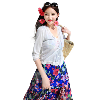 2020 Blouse Shirt Womens New Sweater Casual Crochet Holidays Loose Spring Summer Cardigan Tops For Woman Sexy Blouses Blusas