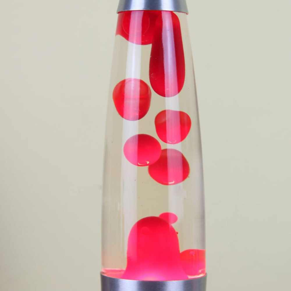 110V nowość lampa Lava wosk wulkan, noc, lekki metalowa podstawa meduzy Nightlight blask żarowe lawa lampa oświetleniowa