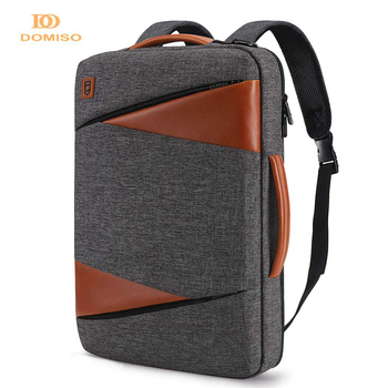 DOMISO Multi-use Laptop Sleeve With Handle For 14 15.6 17 Inch Notebook Bag Shockproof Waterproof Computer
