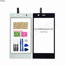 4.7'' Mobile Touch Screen For Ngm Dynamic Art Touch Screen Digitizer Panel Front Glass TouchScreen Sensor Touch Panel 3M Glue