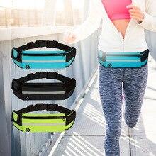 Спортивная поясная сумка На открытом воздухе, противоугонная, водонепроницаемая многофункциональная поясная сумка для мобильного телефона