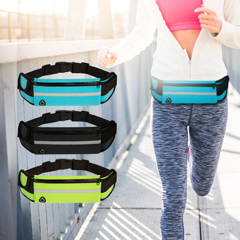 Outdoor Sports Fanny Pack, Anti-theft, Waterproof Mobile Phone Running Multifunctional Fanny Pack