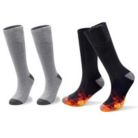 Unisex Winter Electric Heated Socks Thermal Foot Warmers Rechargeable Battery Thermal Foot Warmers 24BC