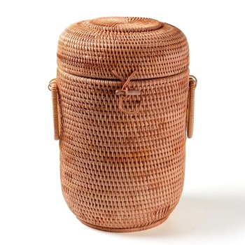 Storage Basket checking Multifunction Rattan organizadores for sundries jewelry tea ornaments food container organizer