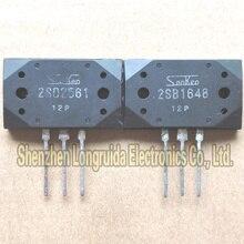 2 unids/lote = par 2SB1648 2SD2561 B1648 D2561