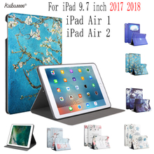Buy Case for iPad Air 1 2 Print Pattern Soft Silicone Tablet Case For New iPad  9.7 inch  2017 2018 A1822  A1823 A1893 A1954 directly from merchant!