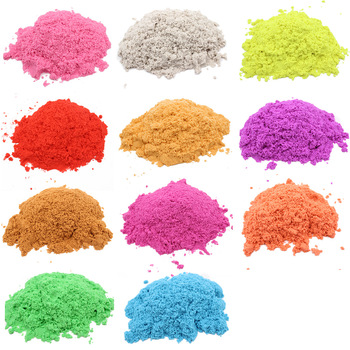 Dropshipping 100g Play Sand Magic Dynamic Sand Indoor Slime Toys For Children Educational Space Sand Polymer Soft  Clay 100g bag soft magic sand diy dynamic sand indoor playing toys for children modeling clay slime play learning educational