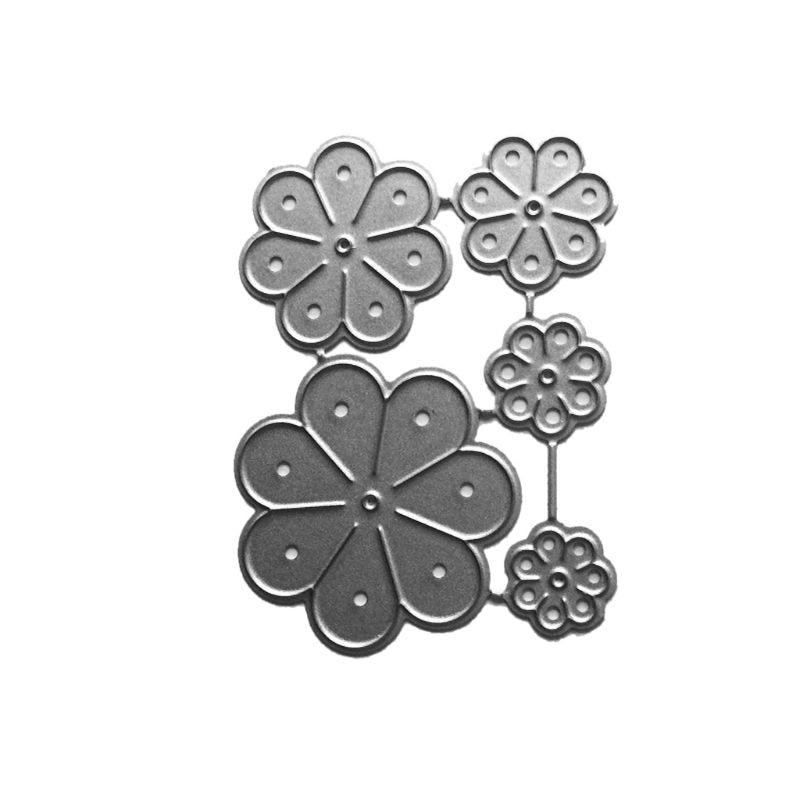 Flower Metal Cutting Dies Stencil Scrapbook Paper Card Embossing Decor Crafts
