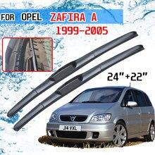 Opel Zafira A 1999 2000 2001 2002 2003 2004 2005 액세서리 자동차 앞 유리 윈드 쉴드 와이퍼 블레이드 커터 U J 후크