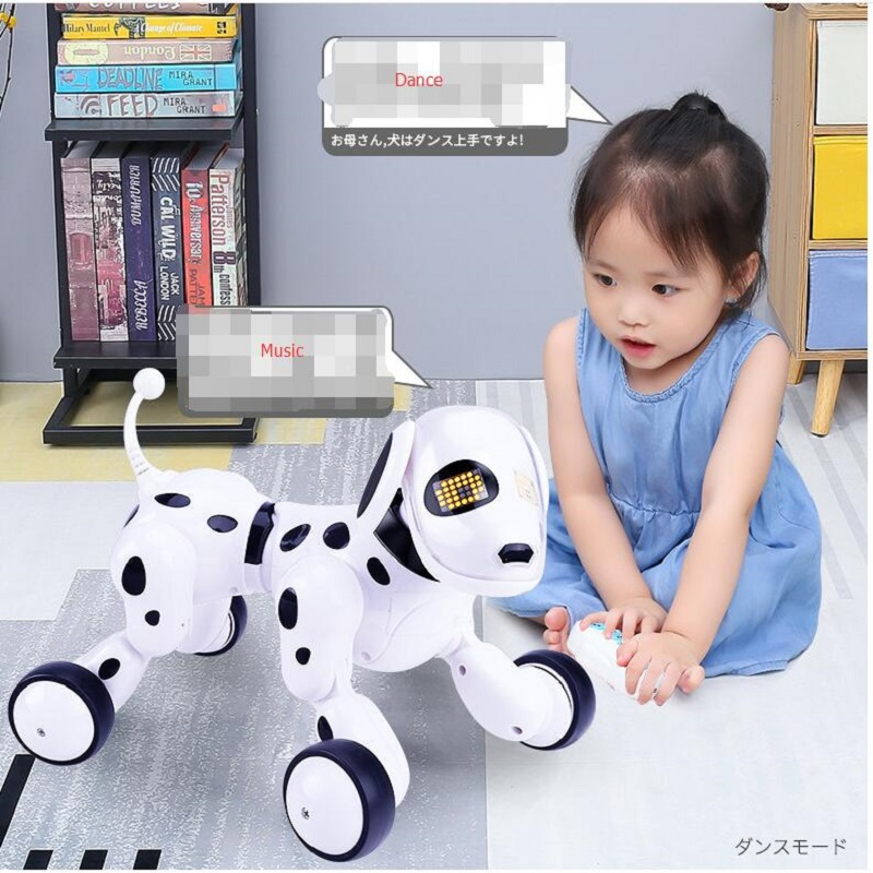 Smart Remote Control Dog Singing and Dancing Robot Dog Electronic Intelligent Pet Education Toy for Kids Gift Birthday Gift image