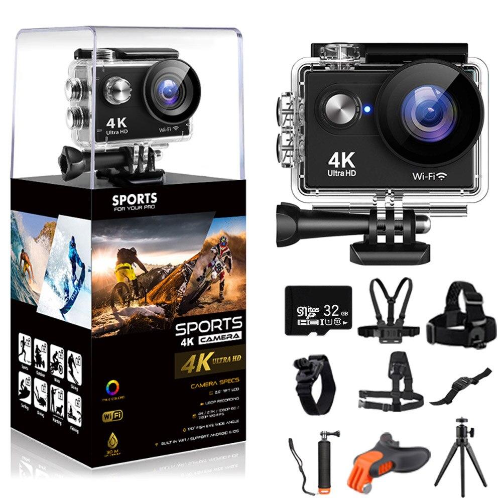 FIREFLY WIFI Action Sports Camera Ultra HD 4K/30fps 16MP 30m Underwater Waterproof 170D Helmet Video Recording Cameras Sport Cam