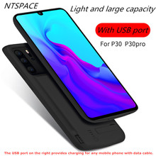 Extended Phone Battery Power Case For Huawei P30 Pro Back Clip Battery Charger Case For Huawei P30 Portable Power Bank Case