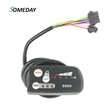 SOMEDAY Electric Bicycle LED S800 Display 36V 48V Electric Bike Intelligent Control Panel LED Display hyundai s800