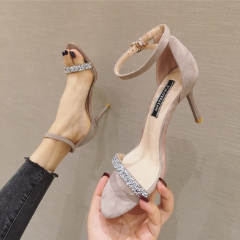 2020 New Sexy Open Toe High Heel Sandals Women Pumps Stiletto Heels Fish Mouth Shoes Woman Party Sandals Summer Ladies Sandals
