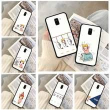 Bonito Casos de Telefone Caso Para Redmi Xiaomi 4X 5 Plus 6 6A 7 7A 8 8A 9 Nota 4 8 T 9 Por
