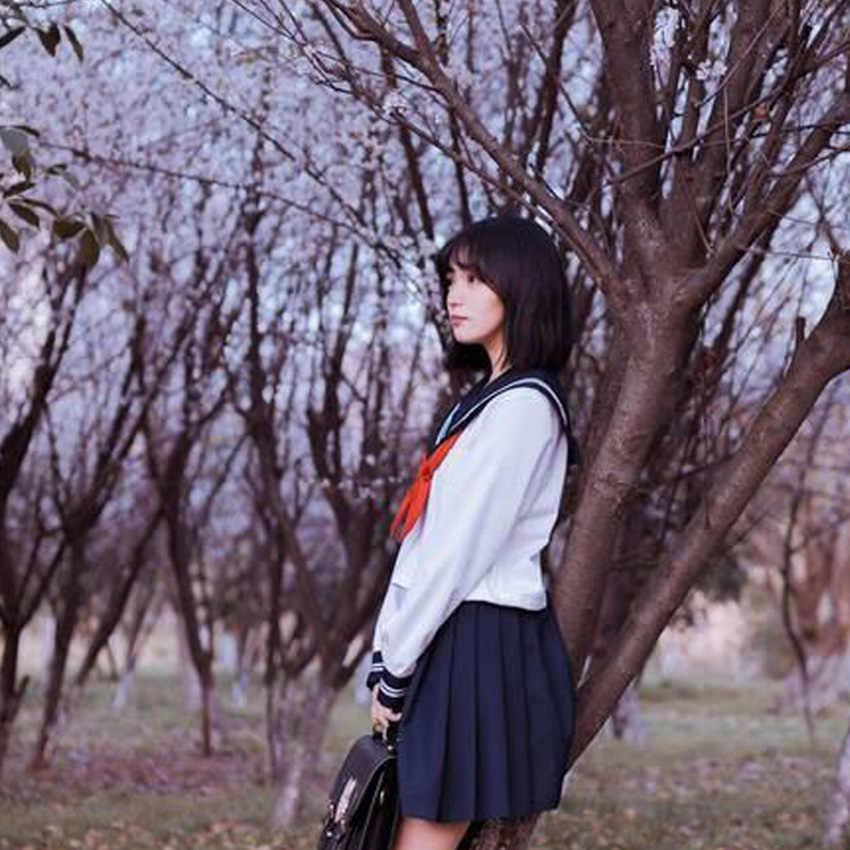 Navy Sailor Cosplay Kostuums Vrouwen Meisjes Student Hoge Schooluniform Kawaii JK Pak Harajuku Anime Blouse + rok Kleding Set