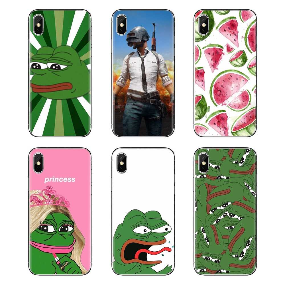 Yuri Op Ijs Kikker Meme Pepe PUBG Soft Case Cover Voor Sony Xperia Z Z1 Z2 Z3 Z5 compact M2 m4 M5 E3 T3 XA Aqua LG G4 G5 G3 G2 Mini