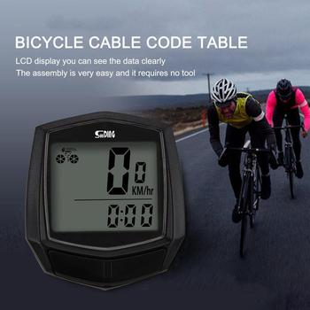 Sunding Bike Accessories Wired Stopwatch Bicycle Computer Multifunction Speedometer Odometer Sensor Outdoor Sport Cycling Cheap цена 2017